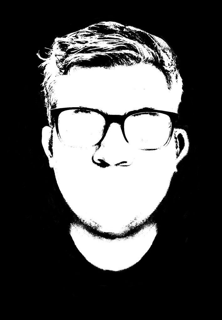 portrait done in a xerox style
